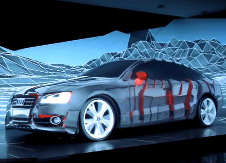 Video projection, 3d mapping and new media