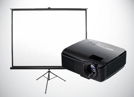 Short-Throw-Projector-Rental-With-Screen-Viewsonic