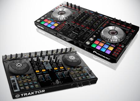 Equipment-Rental-DJ-Midi-Controller-Serato-DDJ-SX2-Traktor-Kontrol-S4