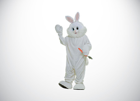 Equipment-Rental-Easter-Bunny-White-Rabbit-Costume-Mascot-For-Rent