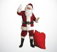 Santa Claus Costume Rental