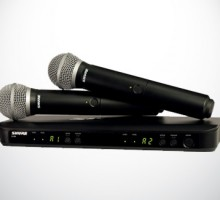 Wireless SM58 Microphone Rental