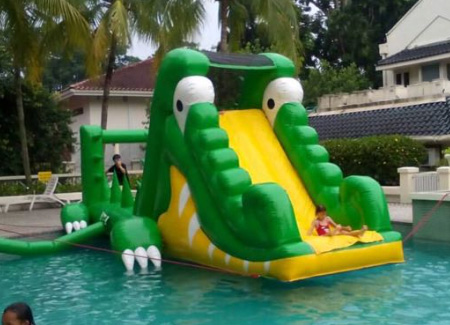 Inflatable Slide For Pool Party