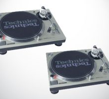 Technics SL1200 MKII Vinyl Turntables