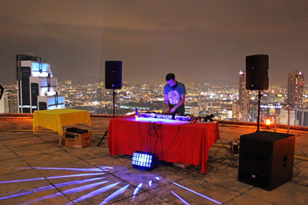 Sound System Rental Helipad